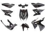 Bodyworkset Yamaha Aerox Black Metallic