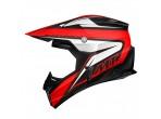 MT Synchrony Cross Helmet Black / Red
