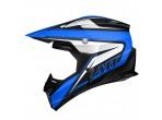 MT Synchrony Cross Helmet Blue / Black