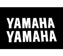 Stickerset Yamaha White